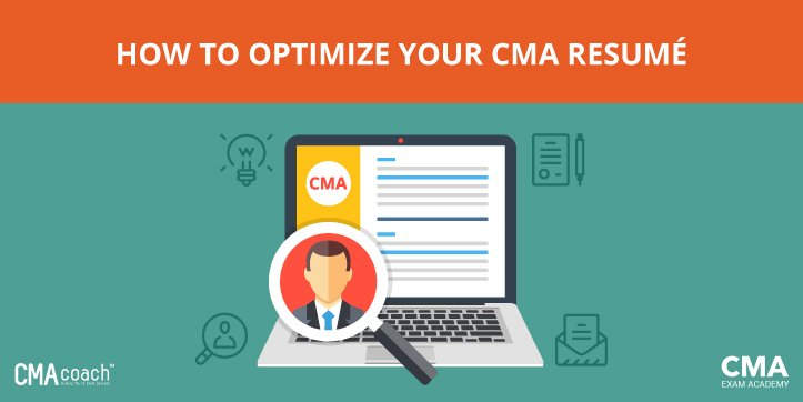your cma resume how to optimize it even if you haven t passed yet