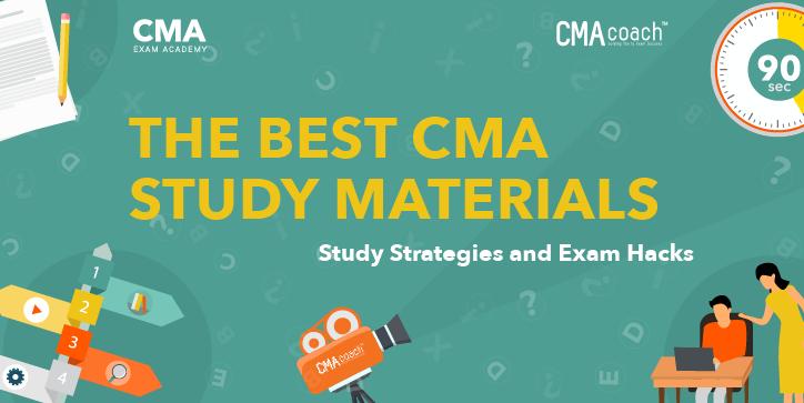 best cma study materials
