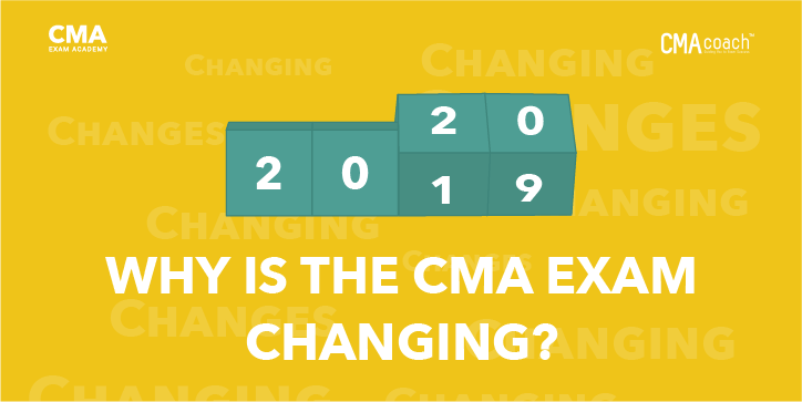 CMA exam changes in 2020